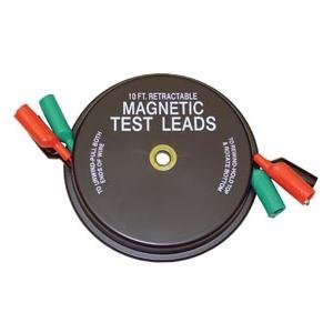 3 x 10' Magnetic Retractable Test Leads (KAS1135) Category: Test Leads and Adapters
