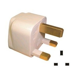 Universal AC Inlet - UK Outlet Adaptor (with Pro1 Logo)
