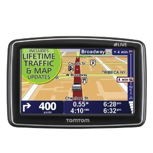 TomTom XL 340TM LIVE (Lifetime Traffic & Maps Edition) 4.3-Inch Portable GPS Navigator