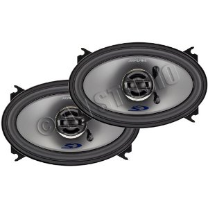 Alpine Type-S SPS-406 - Car speaker - 45 Watt - 2-way - coaxial - 4