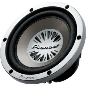 Pioneer TS-W252R 10-Inch Subwoofer with 600-Watt Maximum Power