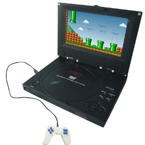TKO Audio BH-DVD36T Home Car Portable 7 inch Matrix TFT LCD DVD Player with Game, USB, MPEG4, SD / MMC / Memory Card Reader