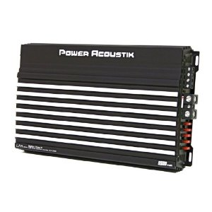 Brand New Power Acoustik Lfa1-5500d 5500 Watts Mono Amplifier with Remote Bass Knob