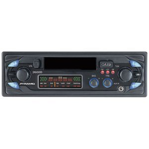 Pyramid 2600D AM/FM Cassette Player with Fully Detachable Face