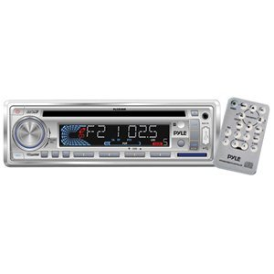 PYLE PLCD3MR AM/FM-MPX IN -Dash Marine CD/MP3 Player/USB and SD Card Function