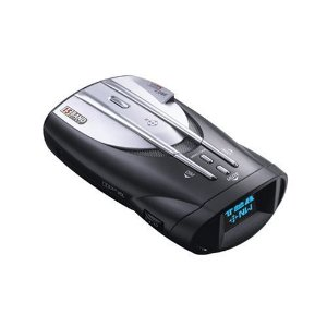 Cobra XRS 9845 Voice Alert 15 Band Radar/Laser Detector with Digital Compass and Upgradeable Alert for Speed and Red Light Cameras