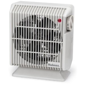 Holmes HFH105-UM Compact Heater Fan with Adjustable Thermostat