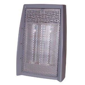 Safety Quartz Heater, 3 Beam Contact Sensor, 4 Hour Safety Timer, Tip Over Protection.