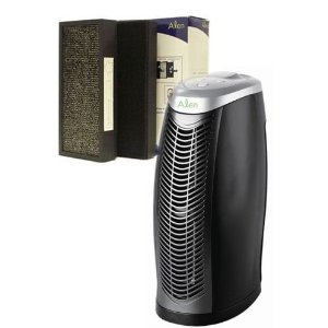 Alen T100 Desktop HEPA Air Purifier w/ T300 Replacement HEPA Air Filters (set of 2) - SET