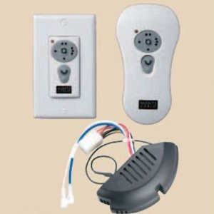 Monte Carlo CK300 Combo Switch Housing Receiver, Wall and Handheld Transmitter with Reverse and Downlight Control