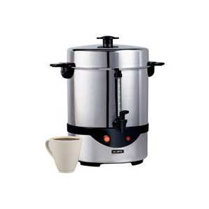 Mr. Coffee CBTU45 45-Cup Stainless Steel Urn