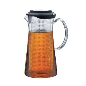 Bodum Bistro Glass Iced Tea Maker with Removable Plastic Filter