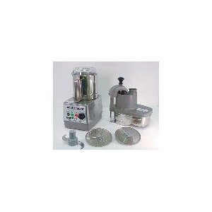 Commercial Food Processor, SS Bowl w/Handle, SS Continuous Feed, Variable Speed