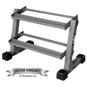 EF Fitness 2' Two Tier Dumbbell Weight Rack EF-3105