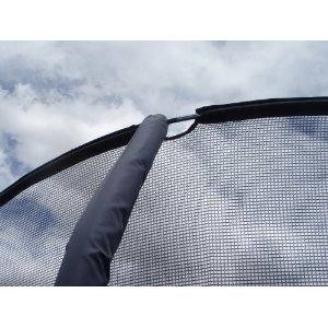 Jumppod/bazoongi Replacement Netting for Some 5 Pole Enclosures (Not for Any Jp1514 Model) **Read Description to Match Your Trampoline, Avoid Return Costs. This Net Has Inserts on the Top Only.