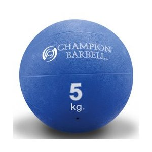 Rubberized Medicine Ball-Blue 11 lbs. (EA)