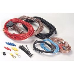 Scosche KPSA-13 225 Watt complete amplifier wiring kit
