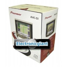 Pioner AVIC-S1 Portable Touchscreen GPS/Navigation