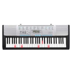 Casio LK-220 Personal Lighted Keyboard, 61-Key, with MP3 Connection, USB Port, and 400 Tones
