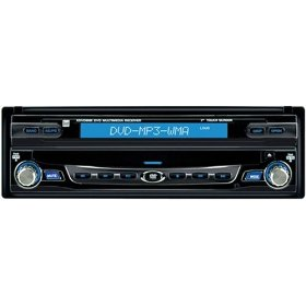 Dual XDVD8181 In-Dash DVD Receiver with 7-Inch Touchscreen