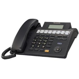 Panasonic KX-TS4100B 4-Line Integrated Phone System expandable up to 16 stations with Speakerphone