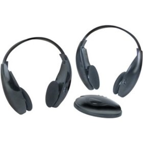 Boss Audio HS-IR Wireless Headphones With Infrared Transmitter