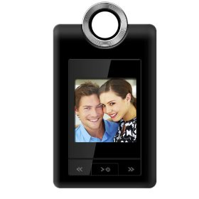 Coby DP152BLK 1.5-Inch Cliphanger Key Chain Digital Photo Frame (Black)