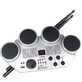 Yamaha DD-20S Portable Digital Drum Kit (Silver)
