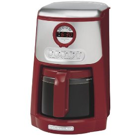 KitchenAid 14-Cup Programmable Coffeemaker - Red (KCM534ER)