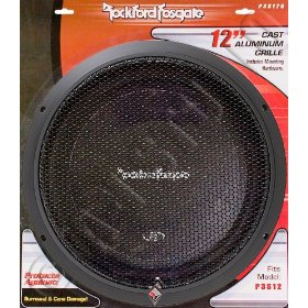 Rockford Fosgate Punch P3 Shallow 12-Inch  Subwoofer Grille