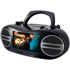 Dv Gx BD707B Portable DVD Boom Box