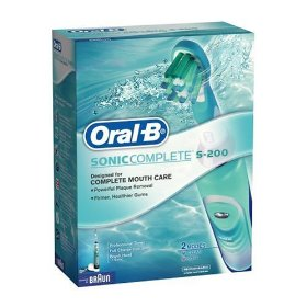 Oral B Model S-200 Sonic Complete Rechargeable Power Toothbrush