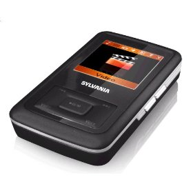 Sylvania 4GB Video MP3 Player with Full Color Screen (Black)