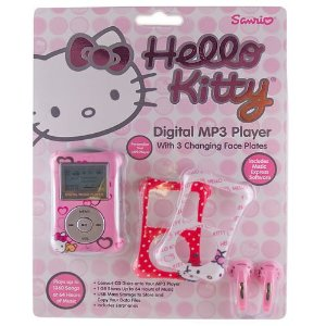 Hello Kitty Digital MP3 Player w/ Face Plates
