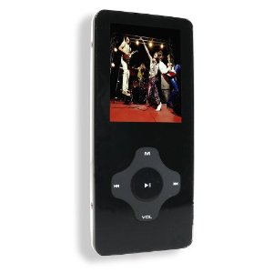 Sylvania Slim Style Video MP3 Player with 1.5 inch Color Screen (Black)