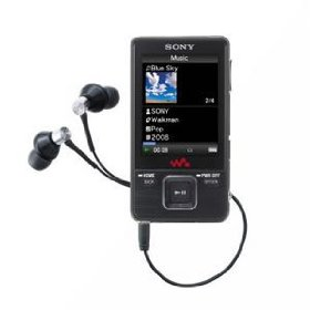 Sony 4 GB Walkman Video MP3 Player (Black)