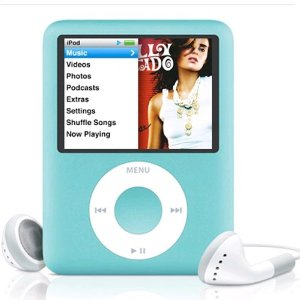 Pre-Owned iPod Nano 8GB Generation 3 - Blue (MB249LL/A)