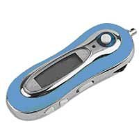 MP3 Music Player (1 GB) with FM Tuner-BLUE