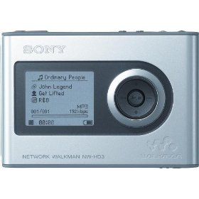 Sony NW-HD3 Network Walkman 20 GB Digital Music Player (Silver)