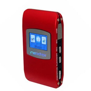 Nextar MA230-1R 1 GB Digital MP3 Player with FM Radio (Red)
