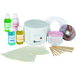 Satin smooth ssw4ckit wax kit professional single warmer