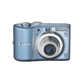 Canon PowerShot A1100IS 12.1 MP Digital Camera with 4x Optical Image Stabilized Zoom and 2.5-inch LCD (Blue)