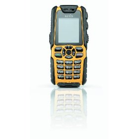 Sonim Rugged Unlocked GSM Phone with Built in GPS and 2 Mega Pixel Camera (Yellow)