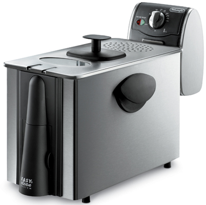 Delonghi d14522dz steel deep fryer 3lb