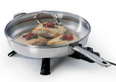 Presto 07300 skillet steel 12inch electric
