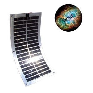 HQRP 30W Flexible Solar Panel Power 30 Watt 12V Mono-crystalline PV Module for RV Boat Yacht plus HQRP Mousepad