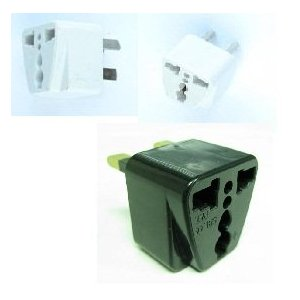 World Traveler Power Adapter Converter Plugs - AU, EU, UK