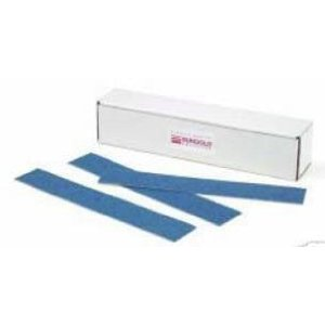 80 Grit : 2-3/4 inch x 16 1/2 inch PSA Blue Zirconia Long Boards (50 Sheets)