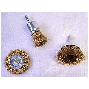 3 Pc Wire Wheel Brush Set - # WB3S