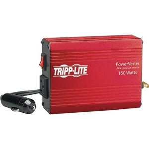 Tripp Lite PV150 PV 150W 12V DC to AC Portable Inverter with DC Auto Power Outlet